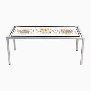 Table mid century carrel e par j belarti 1960 en vente - Table basse peinte ...
