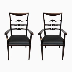 Vintage Armchairs by Paolo Buffa, Set of 2