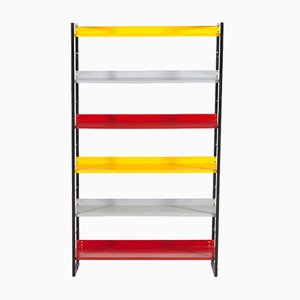 Vintage Dutch Bookcase by A. D. Dekker for Tomado, 1950s