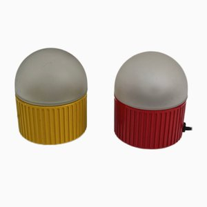 Lámparas de mesa de Raul Barbieri & Giorgio Marinelli para Tronconi, 1981. Juego de 2