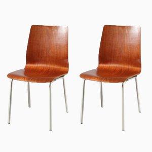 Sedie di Friso Kramer per Auping, Paesi Bassi, anni '60, set di 2