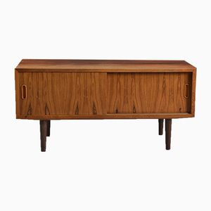 Mid-Century Low Rosewood Sideboard