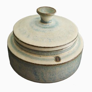 Vintage Belgian Ceramic Lidded Pot by Rogier Vandeweghe for Amphora