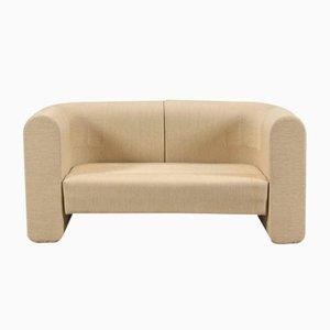 Vintage Striped 2-Seater Sofa