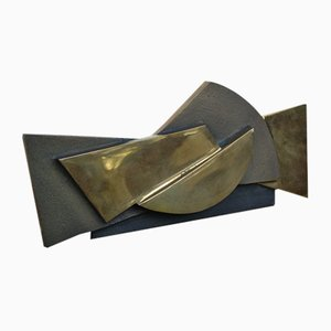 Cornice scultorea di Esa Fedrigolli per Spirale Arte Milano, anni '70