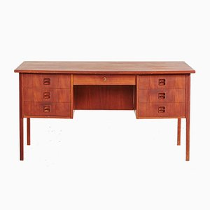 Danish Mid-Century Writing Desk in Teak, 1960s