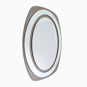 Galvorame Mirror from Metalvetro, 1960s