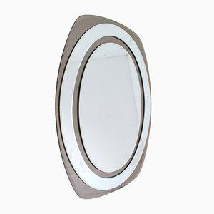 Specchio Galvorame di Metalvetro, anni '60