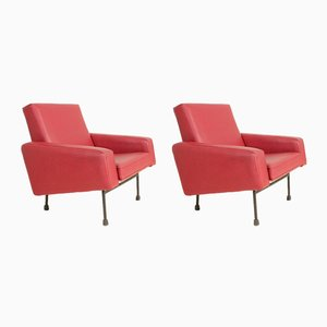 Model G10 Armchairs by Pierre Guariche for Airborne, 1950s, Set of 2