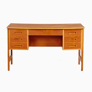 Danish Teak Mid-Century Writing Desk, 1960s