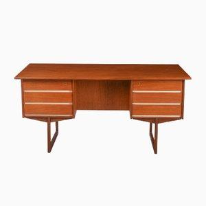 Vintage Teak Veneer Desk