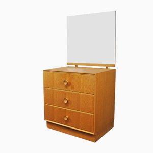 Chest of Drawers with Angled Mirror from Meredrew, 1970s