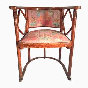 Antiker Armlehnstuhl von Josef Hoffman für Jacob & Joseph Kohn