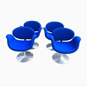 Little Tulip Chairs by Pierre Paulin for Artifort, 1970s, Set of 4
