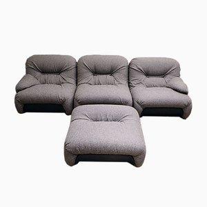 Vintage Italian Malu Modular Sofa from 1P