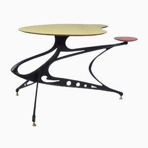 Sculptural Italian Side Table, 1950s