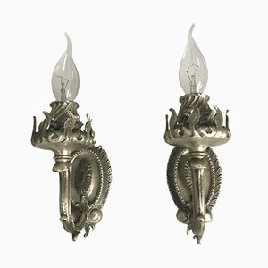 Vintage Italian Wall Lights from Chiarini, Set of 2