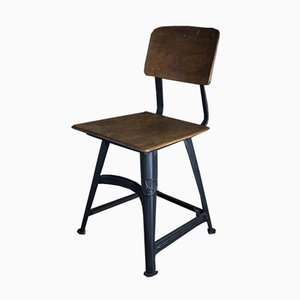 Vintage Industrial Model XI Stool by Robert Wagner for Rowac