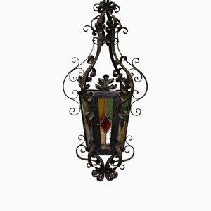 Lanterna con foglie di acanto, anni '20
