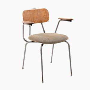 Chaise Industrielle par Niels Larsen, Danemark, 1950s