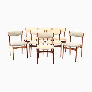 Chaises de Salon Vintage de Thorsø Stolefabrik, Danemark, Set de 8