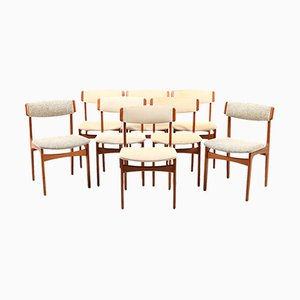 Vintage Danish Dining Chairs from Thorsø Stolefabrik, Set of 8