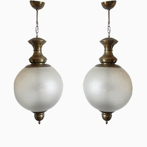 LS1 GC Pendants by Luigi Caccia Dominioni for Azucena, 1950s, Set of 2