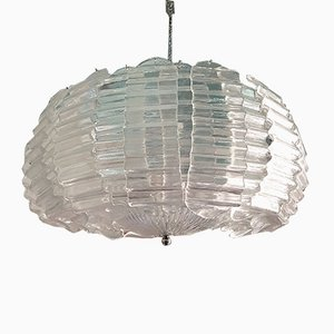 Large Murano Glass Chandelier by Ercole Barovier for Barovier & Toso, 1970s