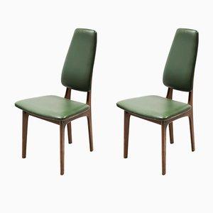 Chaises par Erik Buch pour O.D. Møbler, 1960s, Set de 2
