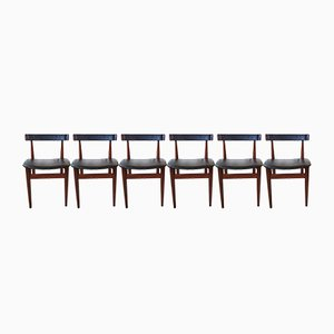 Mid-Century Dining Chairs by Hans Olsen for Frem Røjle, 1952, Set of 6