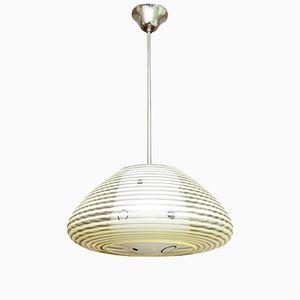 Lampada da soffitto vintage moderna di P. C. Pedersen, Norvegia, anni '50