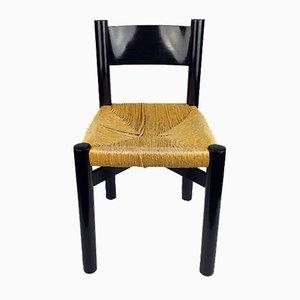 Chaise Modèle Meribel Vintage par Charlotte Perriand pour Georges Blanchon