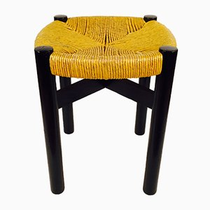Vintage Meribel Stool by Charlotte Perriand for Georges Blanchon