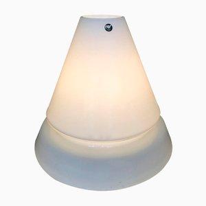 Lámpara de mesa o de pie vintage de cristal de Murano de Res, años 70