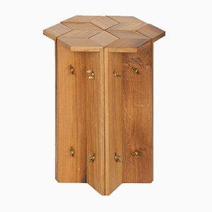 Tabouret ou Table d'Appoint Mike en Chêne de Récupération par Fred&Juul