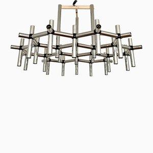 Chandelier by Robert Haussmann for Swiss Lamps International, 1970s