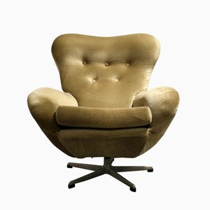 Mid-Century Modern Swivel Chair, 1960s