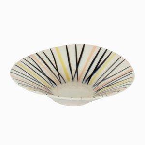 Keramik Schale von Jarmila Formankova für Ditmar Urbach, 1959