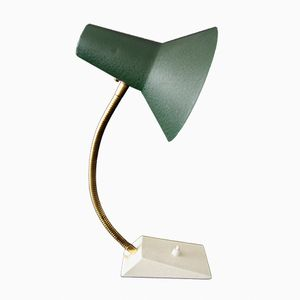 Desk Lamp with Gooseneck, 1950s