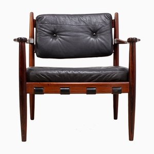 Cadett Rosewood Lounge Chair by Eric Merthen for RE Möbler Skillingary, 1960s