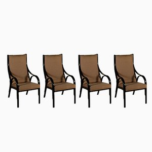Cavour Chairs by G. Stoppino, L. Meneghetti & V. Gregotti for Sim, 1980s, Set of 4