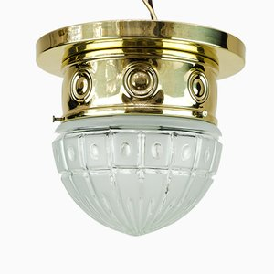 Art Deco Ceiling Lamp, 1920s