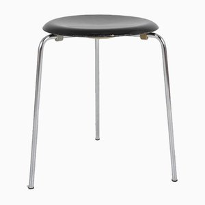 Vintage Tripod Stool by Arne Jacobsen for Fritz Hansen