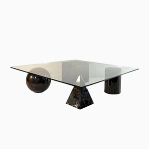 Italian Metafora Coffee Table by Massimo & Lella Vignelli for Martinelli Luce, 1970s