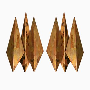 Model 5161 Wall Sconces by Svend Aage Holm Sørensen, 1960s, set of 2