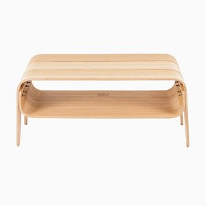 Panca o tavolino basso da camerino Eira di Rafael Fernández per OITENTA