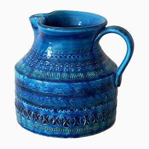 Rimini Blue Series Vase by Aldo Londi for Bitossi, 1950s