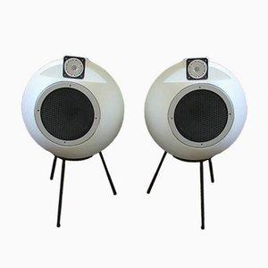 BS 402 Lautsprecher von Elipson, 1970er, 2er Set