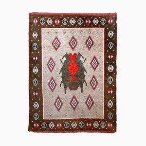 Handgefertigter schwedischer Vintage Teppich, 1950er