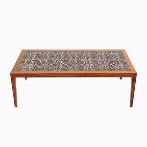 Table Basse en Palissandre par Severin Hansen pour Haslev Møbelsnedkeri, 1970s